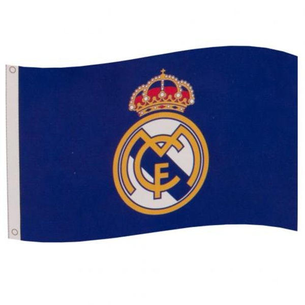 Real Madrid FC Flag Blue