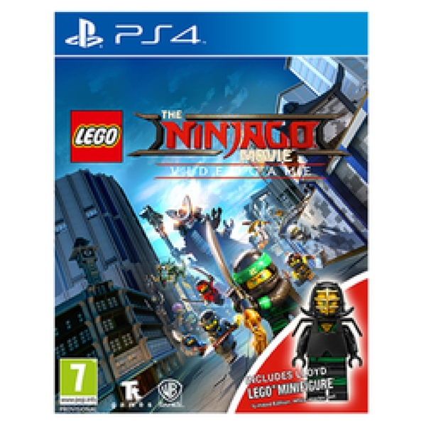 Lego The Ninjago Movie Videogame Toy Edition PS4 Game