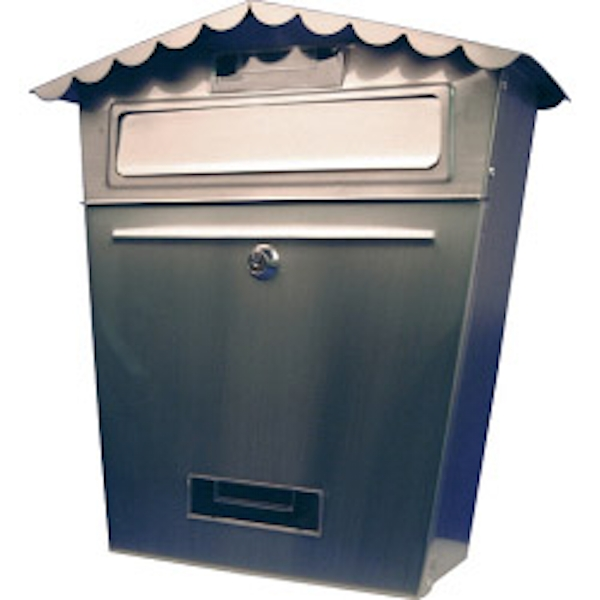 SupaHome Stainless Steel Letter Box