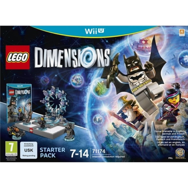 Lego Dimensions Wii U Starter Pack [Damaged Packaging] - Image 1