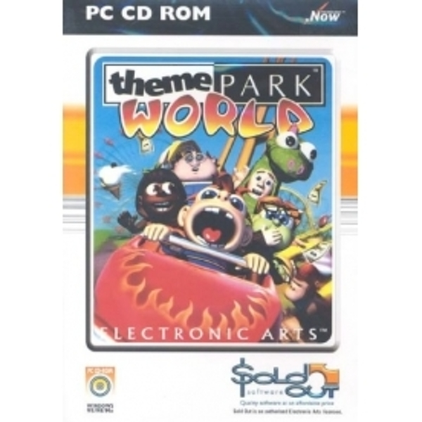 Ex-Display Theme Park World Game PC Used - Like New