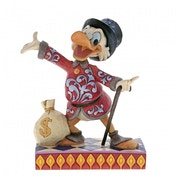 Treasure Seeking Tycoon (Scrooge) Disney Traditions Figurine