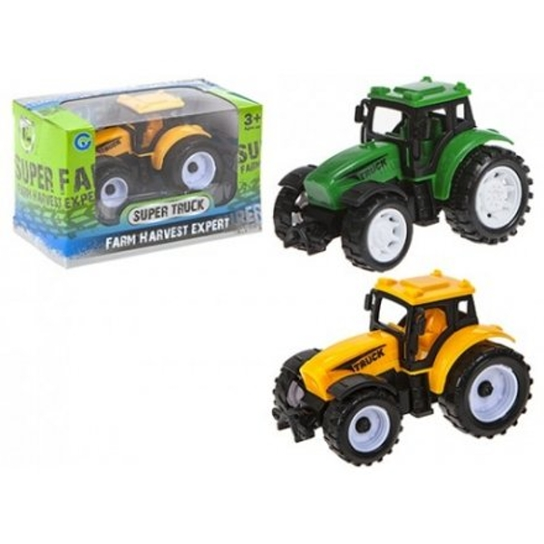 Assorted Pull Back Tractors 8cm (1 Random Supplied)