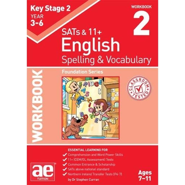 KS2 Spelling & Vocabulary Workbook 2 Foundation Level Paperback / softback 2018