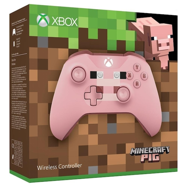 Minecraft Pig Wireless Xbox One Controller