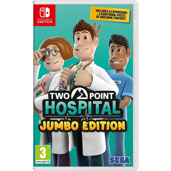 Two Point Hospital Jumbo Edition Nintendo Switch Game