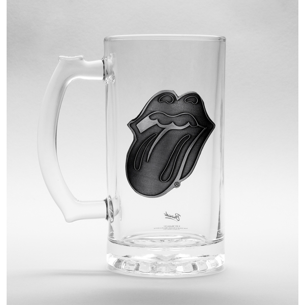 The Rolling Stones  Lips Glass Stein