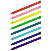 Hama Input Pens for New 3DS XL, set of 8, rainbow colours