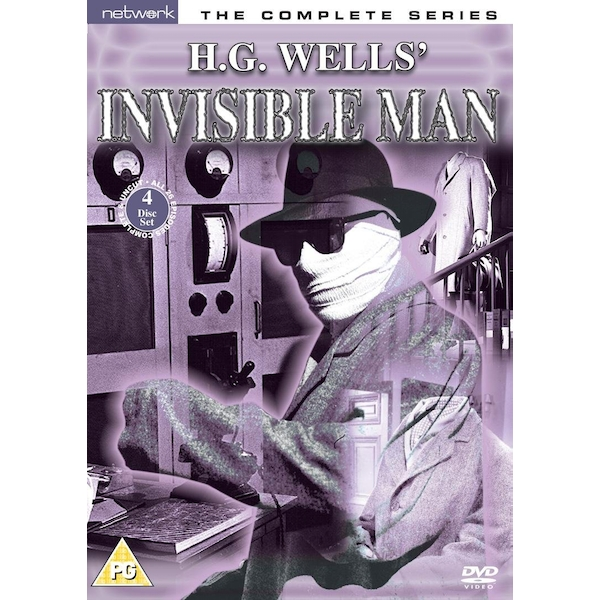 The Invisible Man - The Complete Series DVD 4-Disc Set Box Set