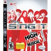 Disney Sing It High School Musical 3 Senior Year Solus Game PS3 (#)