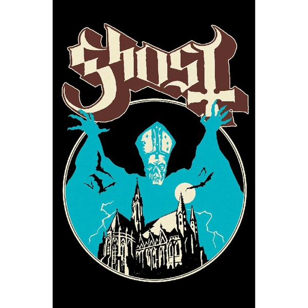 Ghost - Opus Eponymous Textile Poster