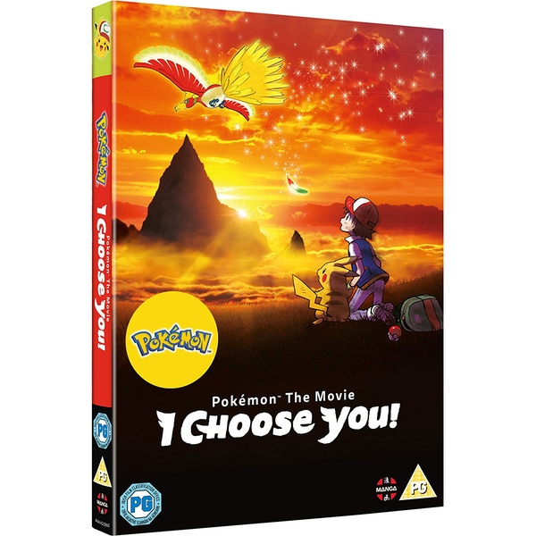 Pokemon The Movie: I Choose You! DVD