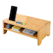 Bamboo Monitor Stand 2 Tier | M&W - Image 3
