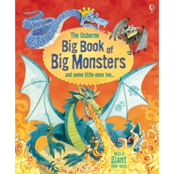 Big Book of Big Monsters by Louie Stowell (Hardback, 2013)