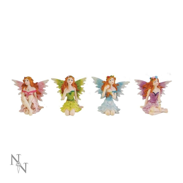 Glen Whispers (Pack Of 4) Fairy Figures