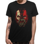 Batman Dark Knight - Bane Face Men's Small T-Shirt - Black