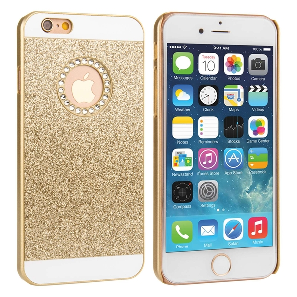 Compare prices with Phone Retailers Comaprison to buy a Apple iPhone 8 Flash Diamond Case - Gold (Ma)