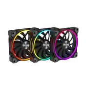 Alpenfohn Wing Boost 3 120mm Addressable RGB Fan - Triple Pack