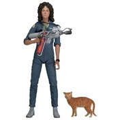 Ex-Display Neca Aliens 7 Inch Action Figure Series 4 Ripley Jumpsuit Used - Like New