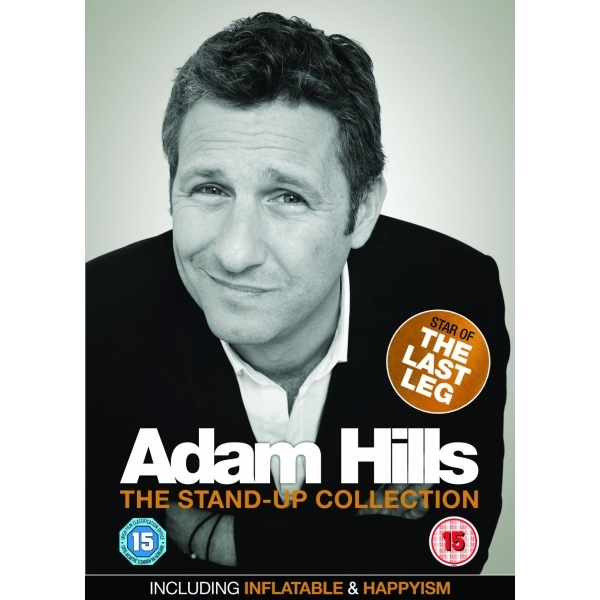Adam Hills: Inflatable/Happyism DVD