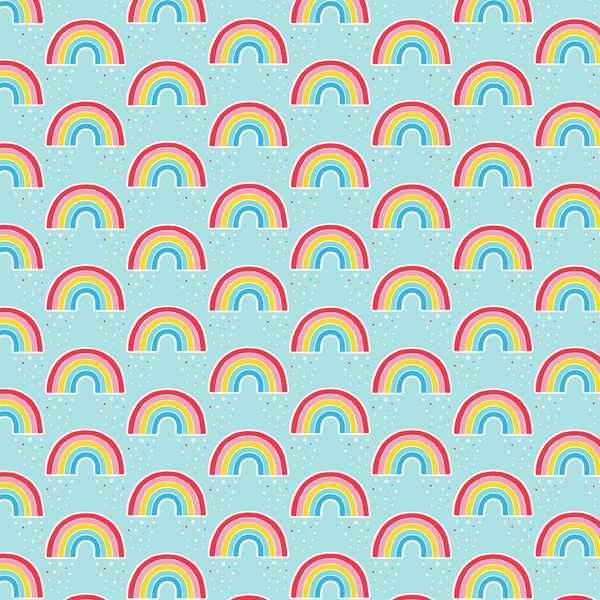 Sass & Belle Chasing Rainbows Wrapping Paper