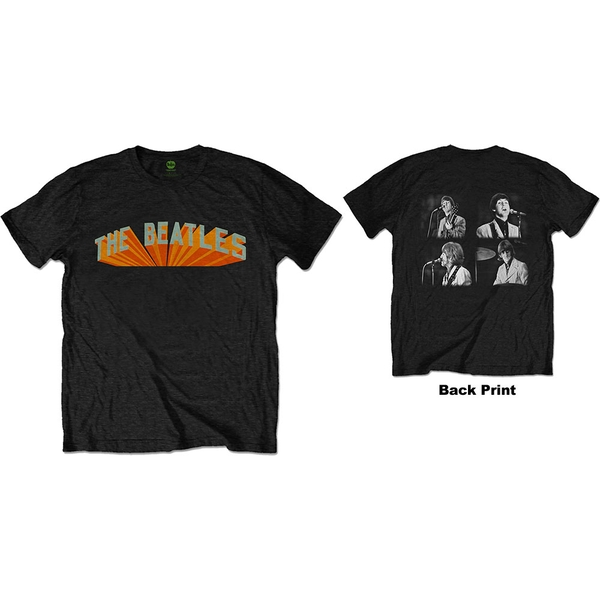 The Beatles - Live in Japan Men's XX-Large T-Shirt - Black