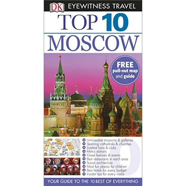DK Eyewitness Top 10 Travel Guide: Moscow by DK (Paperback, 2014)