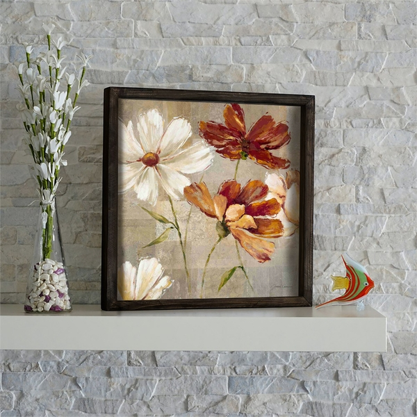 KZM658 Multicolor Decorative Framed MDF Painting