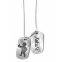 Fallout 4 Logo and Vault Boy Approves Pair of Dog Tags