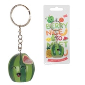 Cute Watermelon Fruity Keyring