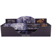 Pack of 6 Silver Dragon Incense Sticks by Anne Stokes
