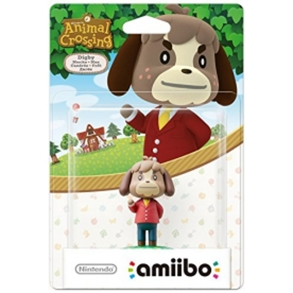 Digby Amiibo (Animal Crossing) for Nintendo Wii U & 3DS - Image 2
