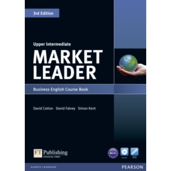 Image of Market Leader 3rd Edition Upper Intermediate Coursebook & DVD-Rom Pack by David Falvey, Simon Kent, David Cotton (Mixed...