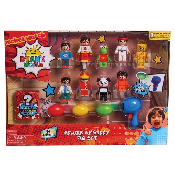 Ryans World - Deluxe Figure Pack