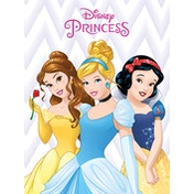 Disney Princess - Belle, Cinderella and Snow White Canvas