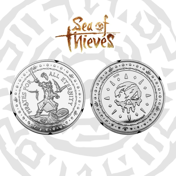 Sea of Thieves Pirate for all Eternity Collectable Coin (Silver)