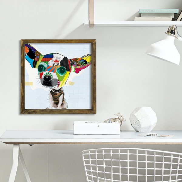 MZM471 Multicolor Decorative Framed MDF Painting