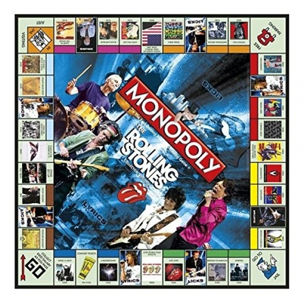 Ex Display The Rolling Stones Monopoly Board Game Used Like New Ozgameshop Com