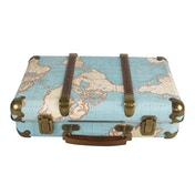 Sass & Belle Around The World Vintage Map Suitcase