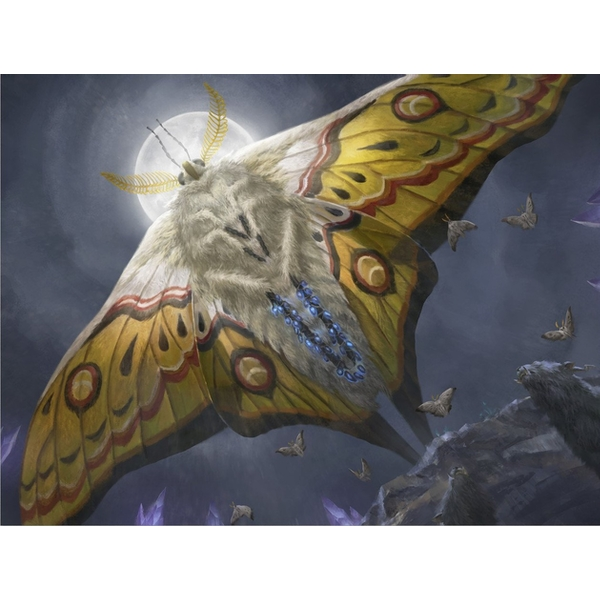 Ultra Pro Magic The Gathering: Ikoria Luminous Broodmoth Playmat