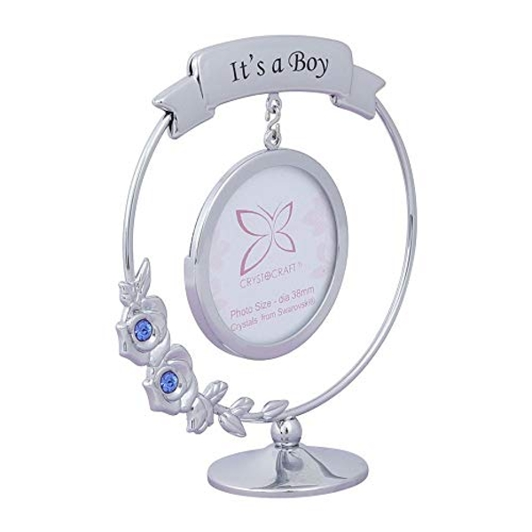 Crystocraft Frame - It's A Boy - Crystals From Swarovski?