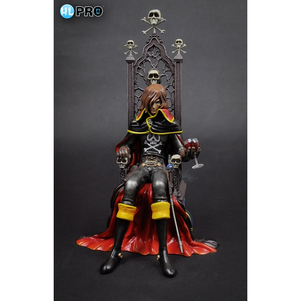 Captain Harlock High Dream PVC Figure