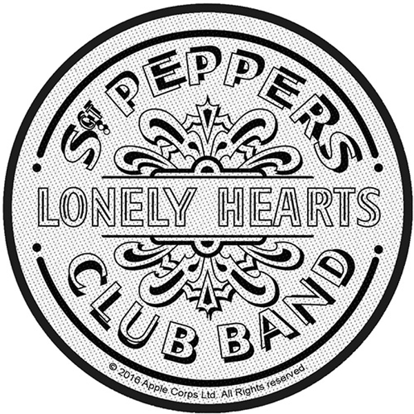 The Beatles - Sgt Pepper Drum Standard Patch
