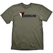 Uncharted 4 Shoreline T-shirt Khaki Green Small