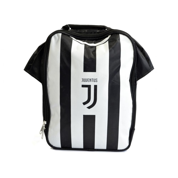 Juventus Kit Lunch Bag Black White