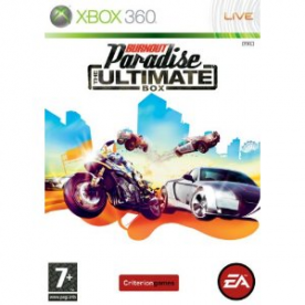 Burnout Paradise The Ultimate Box Game Xbox 360