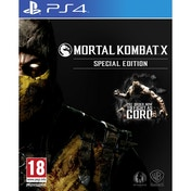 Mortal Kombat X Special Edition PS4 Game (with Goro DLC)