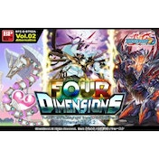 Buddyfight TCG Triple D Booster Four Dimensions (30 Packs)