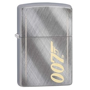 Zippo James Bond 007 Gun Logo Chrome Regular Windproof Lighter