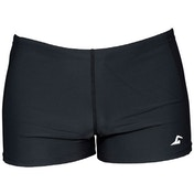 SwimTech Aqua Black Swim Shorts Junior - 30 Inch